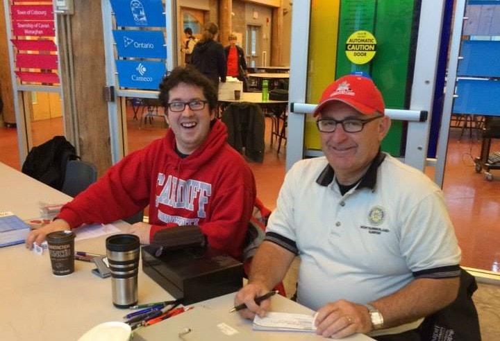 Paul and Matt Rotary